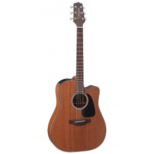 Guitarra Electroacústica GD11MCE NS Marca Takamine de Cuerpo Dreadnought Color Caoba