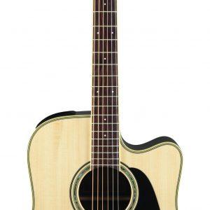 Guitarra Electroacústica GD51CE NAT Marca Takamine de Cuerpo Dreadnought Color Natural