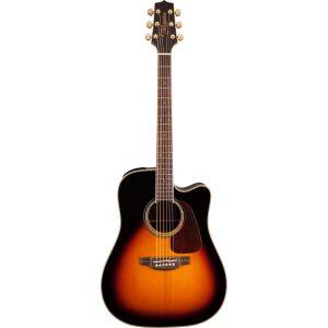 Guitarra Electroacústica GD71CE BSB Marca Takamine de Cuerpo Dreadnought Color Sunburst