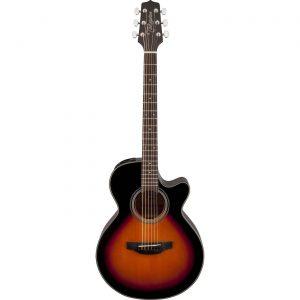 Guitarra Electroacústica GF15CE-BSB Marca Takamine de Cuerpo FXC Color Sunburst Brillante