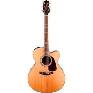 Guitarra Electroacústica GJ72CE-NAT Marca Takamine de Cuerpo Jumbo Color Color Natural