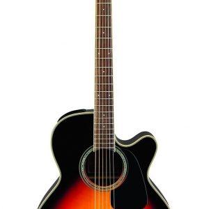 Guitarra Electroacústica GN51CE BSB Marca Takamine de Cuerpo NEX Color Sunburst