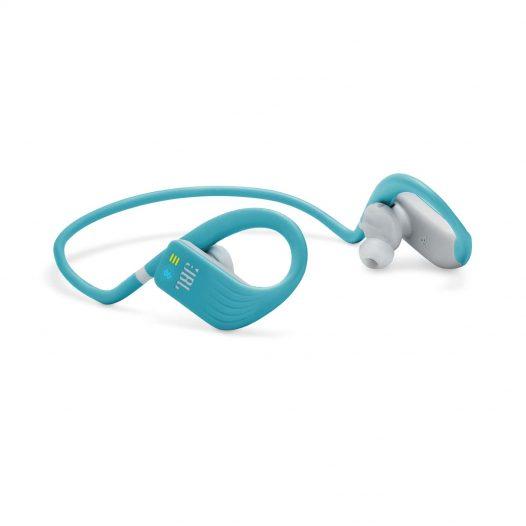 Audífonos JBL Endurance DIVE Waterproof Inalámbricos Color Celeste/Gris