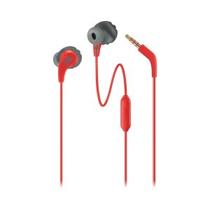Audífonos de Pastilla con Micrófono Endurance Run Marca JBL Color Rojo
