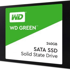 Unidad de Estado Solido de 240GB marca Western Digital Green SSD