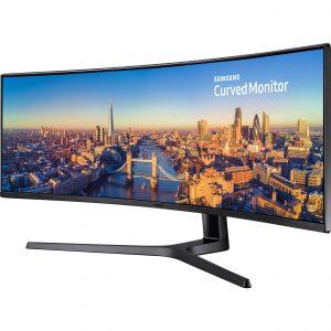 """Monitor Super Ultra Ancho marca Samsung de 49"""" con Salida HDMI y Tipo C"""