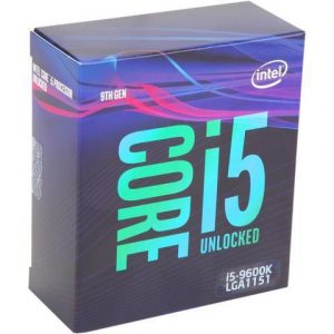 Procesador Intel Core i5-9600K 3.7 Ghz 6 Nucleos / 6 Hilos 9MB Novena Generación