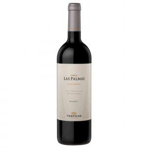 Botella de Vino Tinto Trapiche Finca Las Palmas – Malbec – Argentina – Mendoza