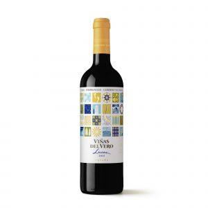 Botella de Vino Tinto Viñas Del Vero Luces – Tempranillo / Syrah / Cabernet Sauvignon – España – Somontano