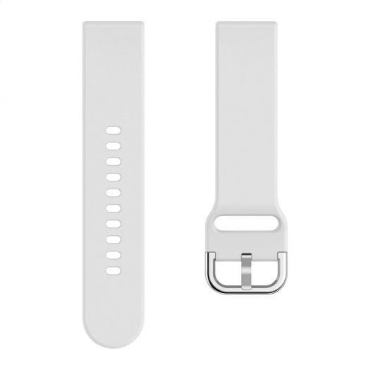 Pulsera de Silicon para Reloj NO. 1 DT-88 color Blanco