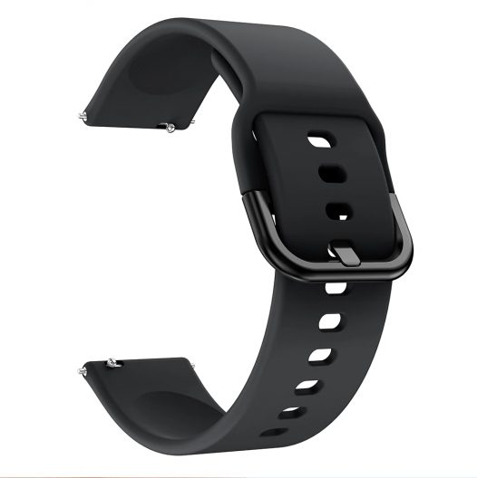 Pulsera de Silicon para Reloj NO. 1 DT-88 color Negro