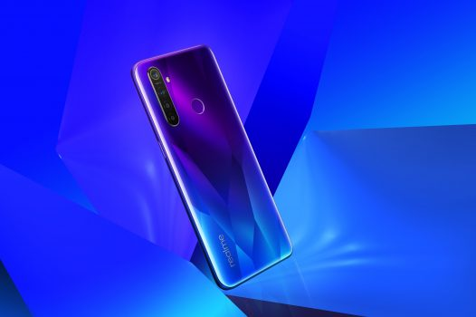 """Celular Realme Q 8GB RAM 128GB 48Mgplx 6.3"""" Color Azul DualSIM 4G Solo con TIGO"""
