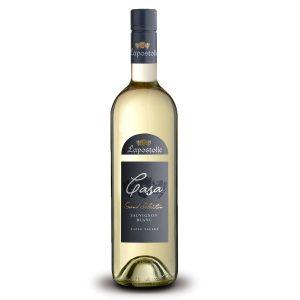 Botella de Vino Blanco Lapostolle Casa Grand Selection - Sauvignon Blanc - Chile - Valle del Rapel