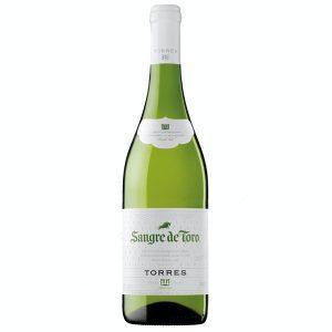 Botella de Vino Blanco Torres Sangre De Toro - Parellada - España - Catalunya